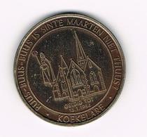 &-  KOEKELARE  1983 - 100 BEZANTEN  1500 EX. GEMEENTELIJKE  HEEMKRING - Tokens Of Communes
