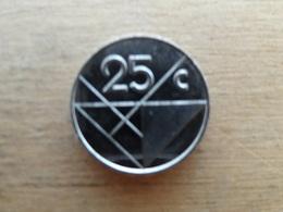 Aruba  25  Cents  2001  K M 3 - Antilles