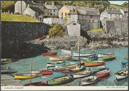 Coverack, Cornwall, 1973 - John Hinde Postcard - England