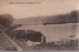 CPA 77 Héricy Sur Seine Les Bords De La Seine (V 1924) - France