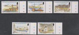 South Georgia 1999 Island Views 5v (+margin) ** Mnh (39451D) - Zuid-Georgia