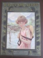 1929 Portrait D Enfant Artiste   PAUL CHABAS Peinture  Salon De  1929 - Ohne Zuordnung