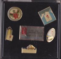 PIN'S  ACHAT IMMEDIAT  COFFRET DE 5 PINS DES JEUX OLYMPIQUES ALBERTVILLE - Olympic Games