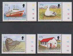 South Georgia 1998 Tourism 4v (+ Margin) ** Mnh (39451G) - Zuid-Georgia