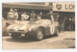 Photographie Iso Grifo A3C N° 1 Noblet / Berney 24 Heures Du Mans 1964 Oldtimer Car Picture Photo Foto Team A. Veuillet - Cars
