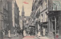 75019-PARIS- RUE DE BELLEVILLE, PRISE DE LA RUE DES FÊTES - TOUT PARIS - Arrondissement: 19