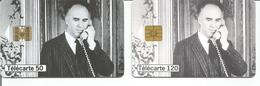2 Télécartes Téléphone Et Cinéma Michel PICCOLI 50 U SO3 T2G Et 120 U SC7 T2G - 03/98 Utilisées - Frankreich