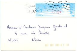 France 1997 Frama Cover Aix-en-Provence To Nice - 1990 «Oiseaux De Jubert»
