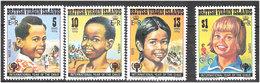 British Virgin Islands 1979 Childrens Year 358-361 MNH(**) - British Virgin Islands