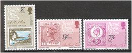 British Virgin Islands 1979 100th Anniversary Of Rowland Hill (1795-1879), British Postmaster-General 362-364 MNH(**) - British Virgin Islands