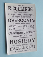 LITTLEHAMPTON Shopping In 1911 E. COLLINGS Clothing Stores ( Copy ) Anno 19?? ! - Other