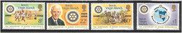 British Virgin Islands 1980 75 Years Of Rotary Internationall 383-386 MNH(**) - British Virgin Islands