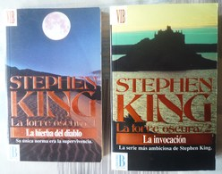 DOS DE STEPHEN KING. DE LA COLECCION LA TORRE OSCURA - NUMEROS 1 Y 2 - Books, Magazines, Comics