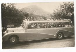 Photographie Autocar Sla Lourdes Autobus Decouvrable Voyageur Autocars Oldtimer Photo Ancêtre Foto Picture - Cars
