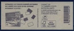 CARNET N° 858-C8 / U.C Ciappa-12 Ex-20g LV DU 12/11/2014 / NEUF.... - Libretti
