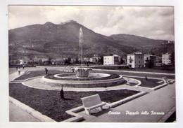 Cartolina Cassino (Frosinone) - Piazzale Della Ferrovia. 1962 - Frosinone