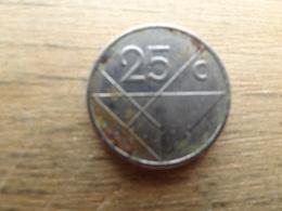 Aruba  25  Cents  2008  K M 3 - Antilles