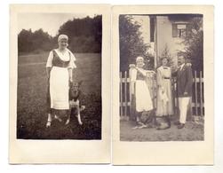 TIERE - HUNDE - SCHÄFERHUND, 2 Photo-AK, 1919 - Hunde