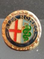 BEAU PINS ROND ALFA ROMEO - Alfa Romeo