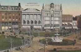 Montevideo - Plaza Constitucion       (180707) - Uruguay
