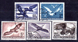 Austria-F-0125 - Emissione Di Posta Aerea 1950 (o) Used - Senza Difetti Occulti. - 1945-.... 2nd Republic