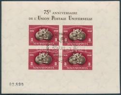O 1950 UPU Blokk Pár Els?napi Bélyegzéssel (280.000++) - Stamps