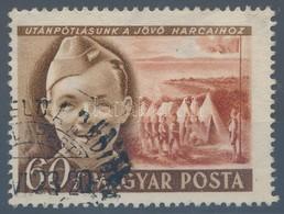 O 1950 Gyermek (I.) 60f Tévnyomat 'Utánpótlásunk A Jöv? Harcaihoz' R! (150.000) (használtan Ritkább, Mint Postatisztán) - Stamps