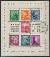 O 1938 Eucharisztikus Blokk (a Tervez? Neve Nélkül) (100.000) - Stamps