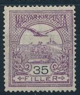 ** 1913 Turul 35f Fekv? Vízjellel (90.000) - Stamps
