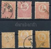 O 1871 K?nyomat 2 X 2kr + 3 X 5kr Vegyes Min?ség (77.000) + Díjjegyes Kifogazás - Stamps
