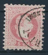 O 1867 Magyar Posta Romániában 5sld ,,(BUCA)REST (RECOMMA)NDIRT' (66.000) - Stamps