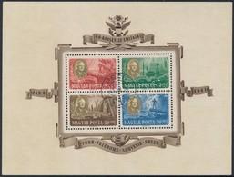 O 1947 Roosevelt Blokk Pár 1947. Júl. 24. Sokkal Ritkább Korabeli Bélyegzéssel, Mint A Postatiszta (50.000) - Stamps