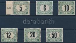 ** 1908 Portó Sor Nagyon Ritka (44.000) (2f Hiányzik) - Stamps