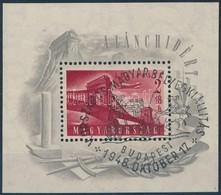 O 1948 Lánchíd (I.) Blokk Kiállítási Bélyegz?vel, Szép, Ritka Darab (30.000+) - Stamps