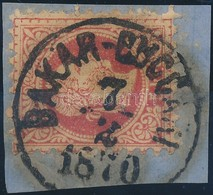 1867 5kr 'BAKAR-BUCC(ARI) 1870' (Gudlin 800 Pont) - Stamps