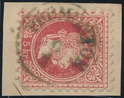 1867 5kr Kék 'PROMONTOR' (Gudlin 700 Pont) - Stamps