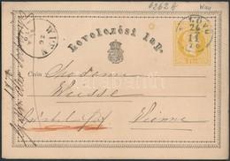 Díjjegyes Levelez?lap Kék 'N.LÖVÖ' (Gudlin 500 Pont) - Stamps