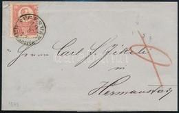 1873 Réznyomat 5kr Levélen ,,SEGESVÁR SEGESVÁRSZÉK' (Gudlin R!) - Stamps