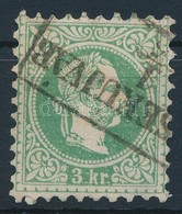 O 1867 3kr ,,(ÉR)SEKÚJVÁR' (Gudlin 200 Pont) - Stamps