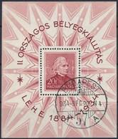 O 1934 LEHE Blokk (20.000) - Stamps