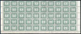 O 1953 Portó 2Ft, Kis Számjegy, 50 Db (fél ív) (25.000) - Stamps