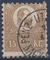 O 1871 K?nyomat 15kr - Stamps