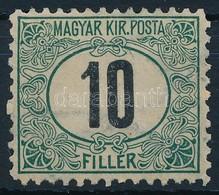 * 1903 Portó 10f 11  1/2 Fogazás (20.000) - Stamps