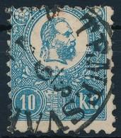 O 1871 K?nyomat  10kr ,,TEMESVÁR' (26.500) - Stamps