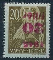 ** 1945 Kisegít? 20f/ 20f Fordított Felülnyomással (24.000) - Stamps