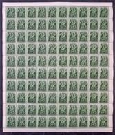 ** 1938 Szent István 25f Hajtott Teljes 100-as ív (20.000) - Stamps
