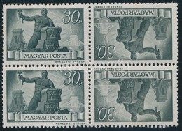 ** 1945/1946 Újjáépítés Sor Fordított Párok 10-es összefüggésekben, Kivéve 300P és 30P (~28.000) - Stamps