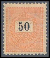 ** 1889 50kr 11 1/2 Fogazással, Nagyon Szép Friss Szín? Darab RR! - Stamps