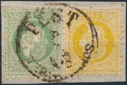 1867 2kr + 3kr ,,PEST' - Stamps