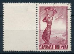 O 1950 Repül? 20f Bal Oldalon üres Mez?vel - Stamps